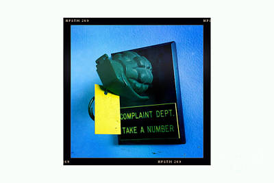 Complaint Dept Print by Nina Prommer