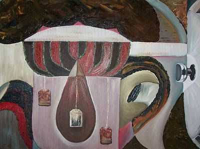 Components Of Tea Original by Nada Al-Ghussain