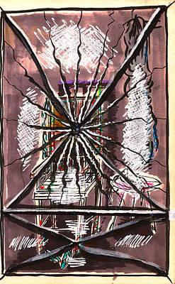 Composition Seven Print by Al Goldfarb