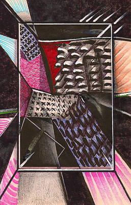 Composition Ten Print by Al Goldfarb