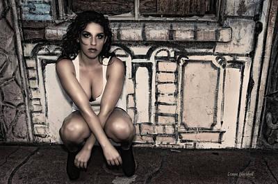 Concrete Velvet 10 Print by Donna Blackhall