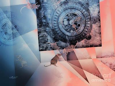 Disorder Digital Art - Confusion by Jutta Maria Pusl