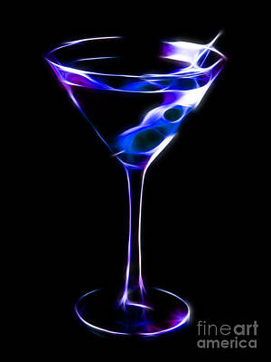 Martini Digital Art - Cool Martini by Wingsdomain Art and Photography