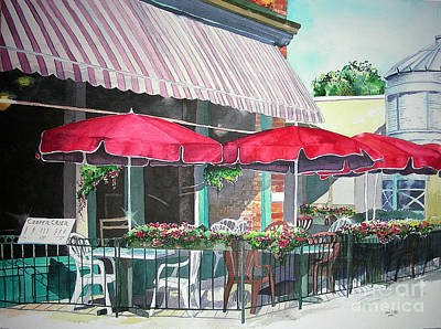 Fort Collins Painting - Coopersmith's Pub by Tom Riggs