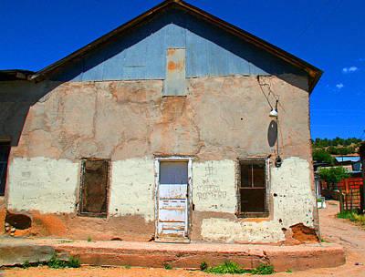 Elizabeth Rose Photograph - Cordova Building In Bright Color by Elizabeth Rose