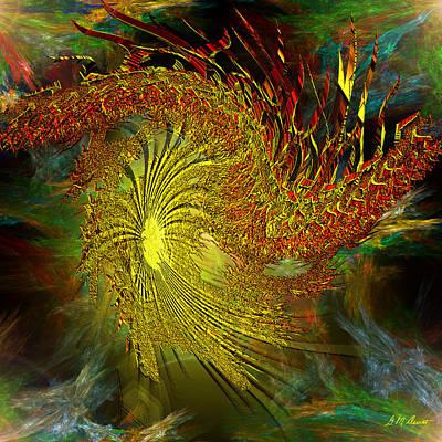 Cosmic Pinwheel Print by Michael Durst