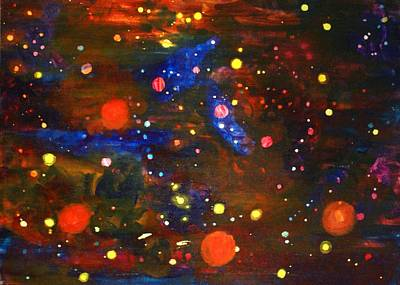 Cosmic Space Painting - Cosmos by Gregory Smith