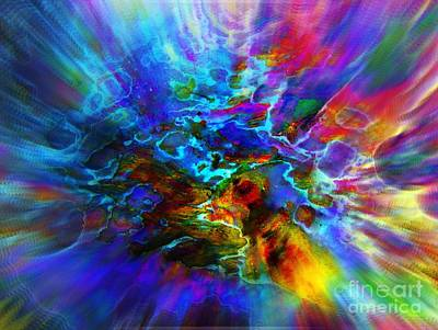 Cosmos   Print by Irina Hays