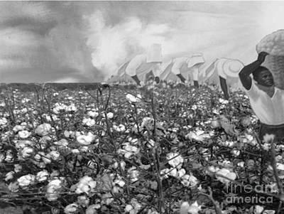 Cotton Field Print by Belinda Threeths