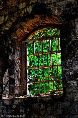 Count Of Monte Cristo Dungeon Window Original by Enrique Rueda