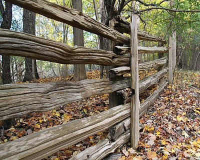 Jim Nelson Photograph - Country Fence by Jim Nelson