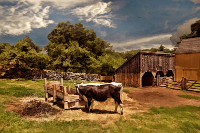 Horse And Cart Photograph - Country Life by Lourry Legarde