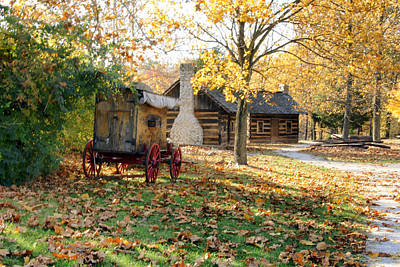 Country Living Print by Franklin Conour