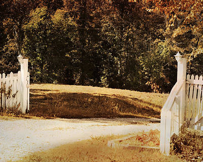 Country Welcome Landscape Print by Jai Johnson
