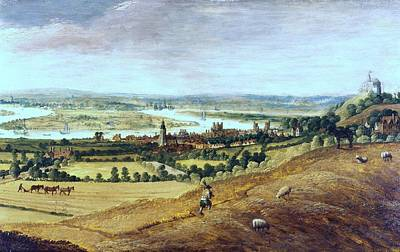 Countryside In London, England, 17th Century Print by Photos.com