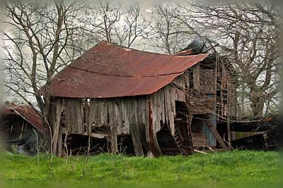 Old Barns Photograph - County Road Barn by Lisa Moore