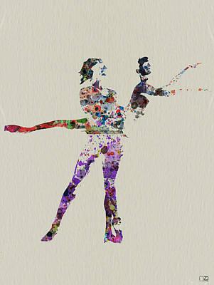 Couple Dancing Print by Naxart Studio