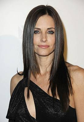 Courteney Cox At Arrivals For Fx Print by Everett
