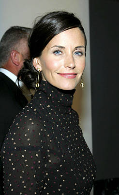Courteney Cox At Arrivals For Kinerase Print by Everett