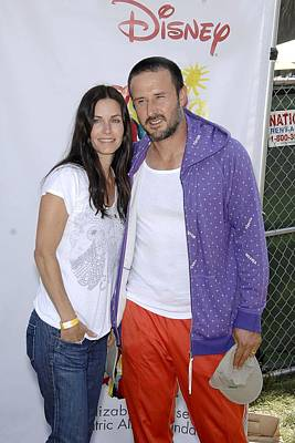 Courteney Cox, David Arquette Print by Everett