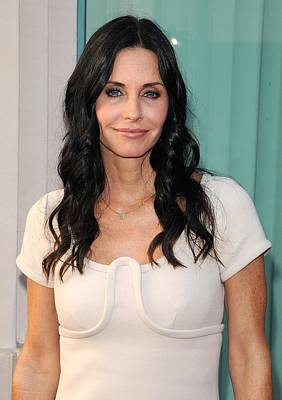 Courteney Cox In Attendance For Atas Print by Everett