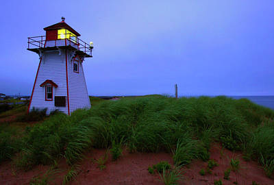 Princes Photograph - Cove Head Lighthouse by Rick Berk