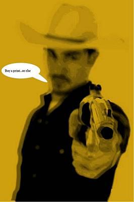 Cowboy  Print by Chandler  Douglas