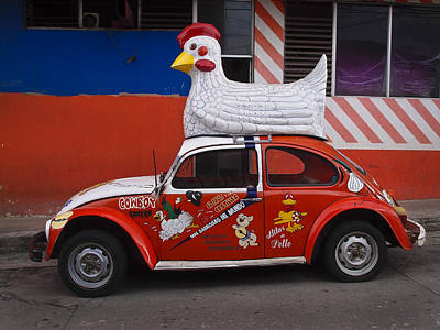 Skiphunt Photograph - Cowboy Chicken by Skip Hunt
