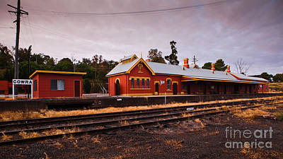 Cowra Railway Station Print by John Buxton