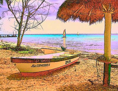 Coastal Photograph - Cozumel Colors by Rebecca Korpita
