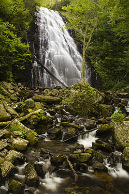 Crabtree Falls Print by Andrew Soundarajan