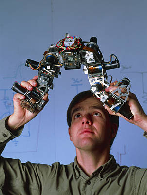 Craig Eldershaw, Robotics Researcher Print by Volker Steger