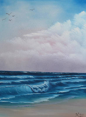 Crashing Wave Print by Kevin Hill