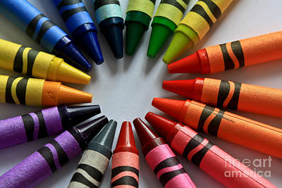 Crayola Color Print by Tracy  Hall