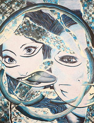 Crazy In Seattle Print by Tamra Pfeifle Davisson
