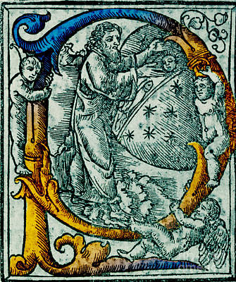 Creation Giunta Pontificale 1520 Print by Science Source
