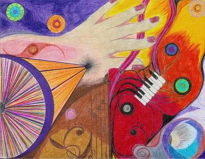 Creativity Drawing - Creativity by Aileen Heymach