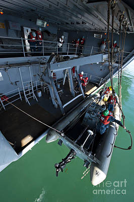 Inflatable Photograph - Crew Members Enter The Starboard by Stocktrek Images