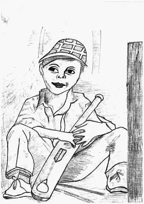 Cricket Drawing - Cricket Lover by Pragati Vartak