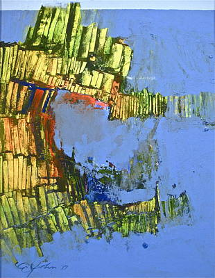 Crocodile Mixed Media - Crocodisland by Cliff Spohn