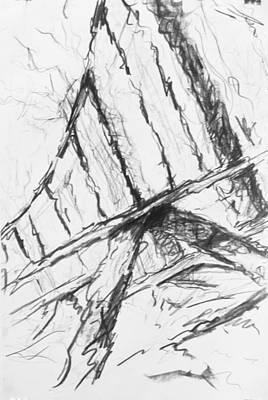 Installation Art Drawing - Crossing by Marc DAgusto
