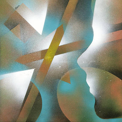 Crossing Of Minds Original by Hakon Soreide