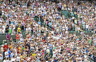 Applaud Photograph - Crowd Of People by Carlos Dominguez