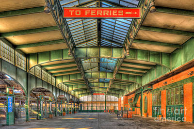 Crrnj Terminal I Print by Clarence Holmes