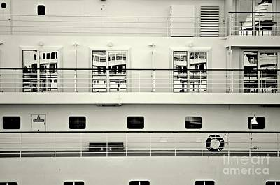 Cruise Reflections Print by Dean Harte