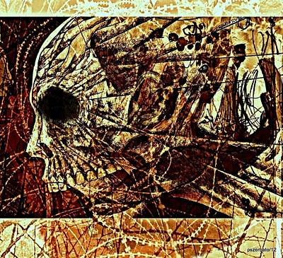 Crush The Infinity Of My Despair Print by Paulo Zerbato