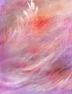 Cry Of A Bird Print by Rachel Christine Nowicki