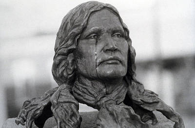 Crying Chief Niwot  Print by James BO  Insogna