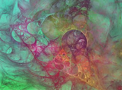 Crystal Ocean Original by Betsy C Knapp