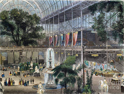 Crystal Palace Print by Granger